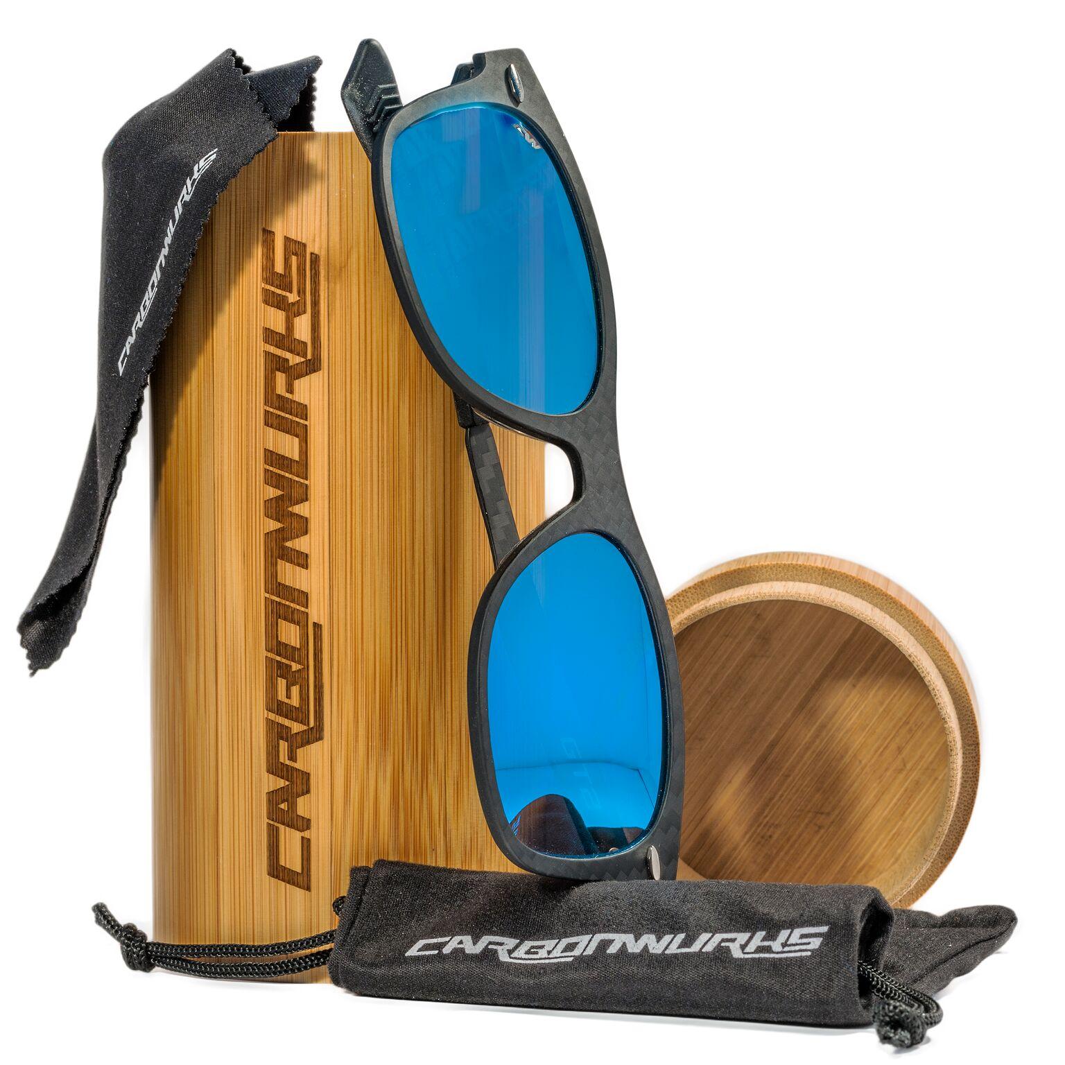 GT2 sunglasses Sea Blue Mirror